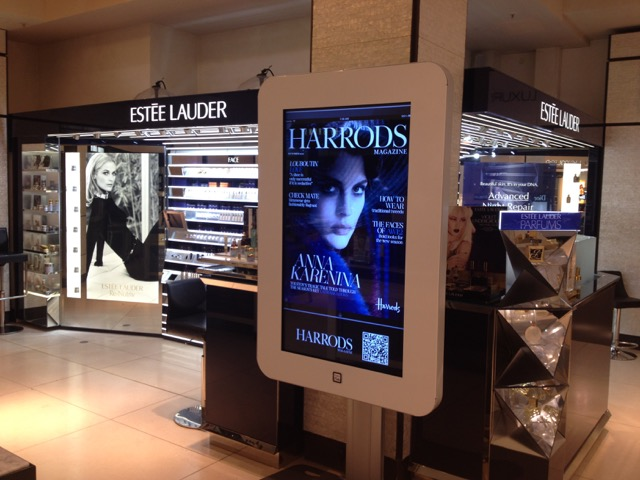 Harrods-magazine-in-store